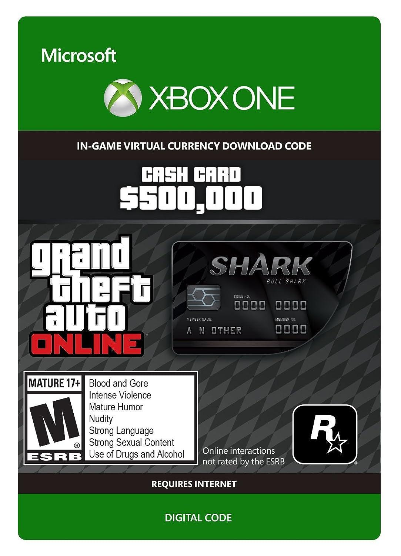Grand Theft Auto Online   GTA V Bull Shark Cash Card