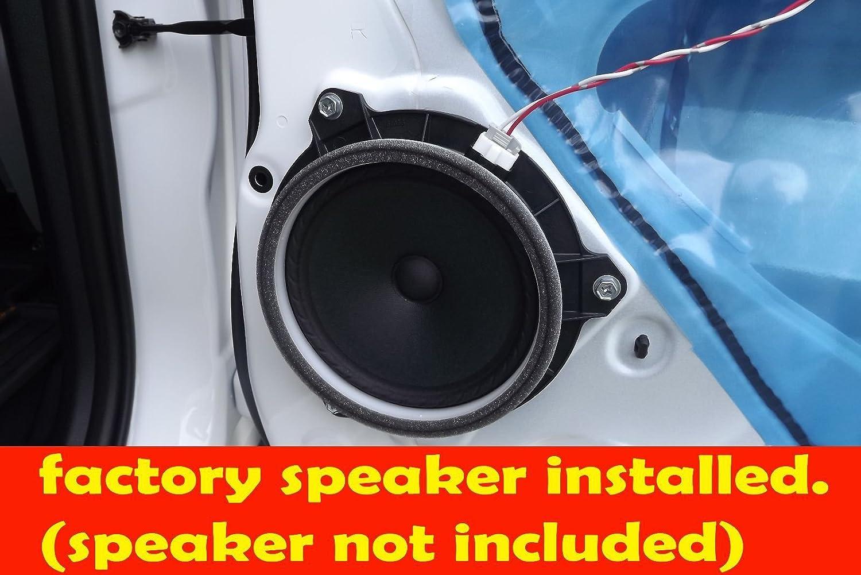 "Amazon.com: Toyota 2001-2015 Corolla (front doors) & 2005-2015 Tacoma (rear)  6 1/2"" 6.5"" Speaker Adapter Spacer Rings - SAK036_55875-1 Pair: Automotive"