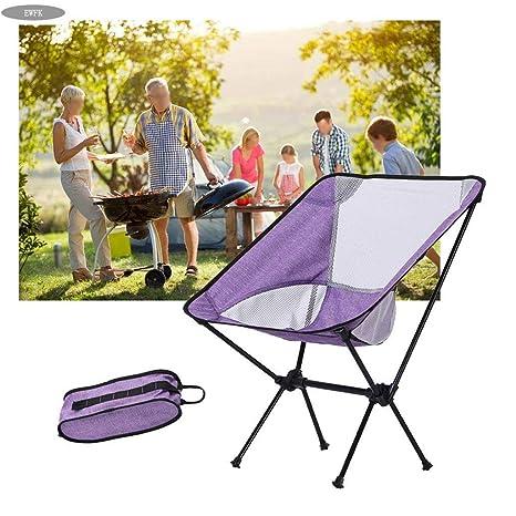EWFK Silla de Camping y Bolsa de Transporte Silla Plegable ...