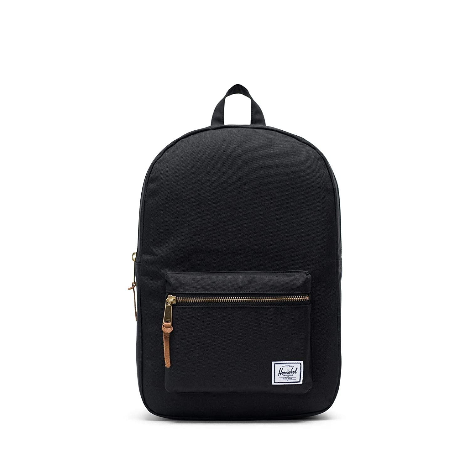 Herschel Supply Settlement Mid-Volume Backpack  Black  One Size