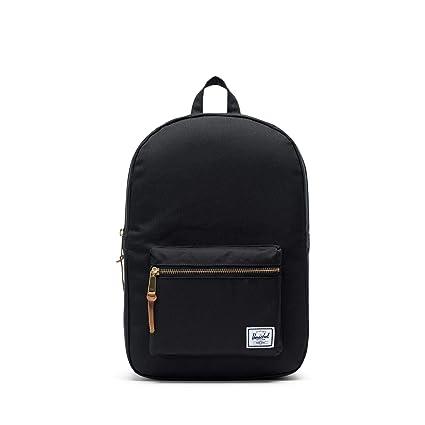 4c3167f0ef49 Herschel Supply Settlement Mid-Volume Backpack, Black, One Size