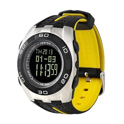 LEORX Spovan Deportivo Multifunción Reloj Montaña (Negro)