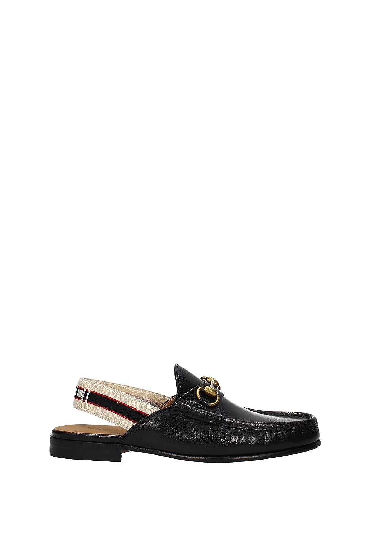 Zapatillas y Zuecos Gucci Hombre - Piel (5234060G0B0) EU: Amazon.es: Zapatos y complementos