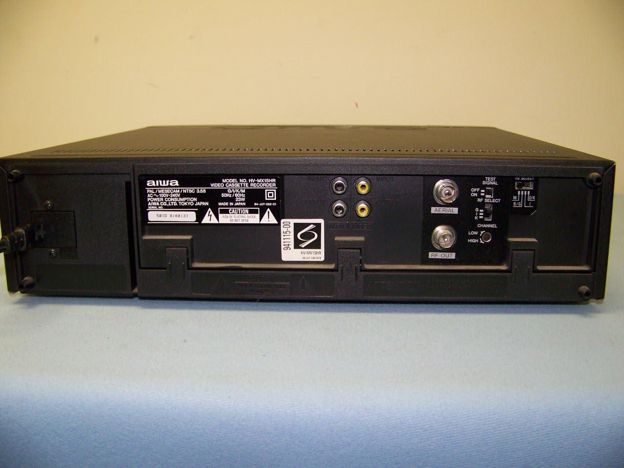 alpha-ene.co.jp Aiwa HV-MX1 Worldwide Video NTSC/PAL VCR VCRs ...