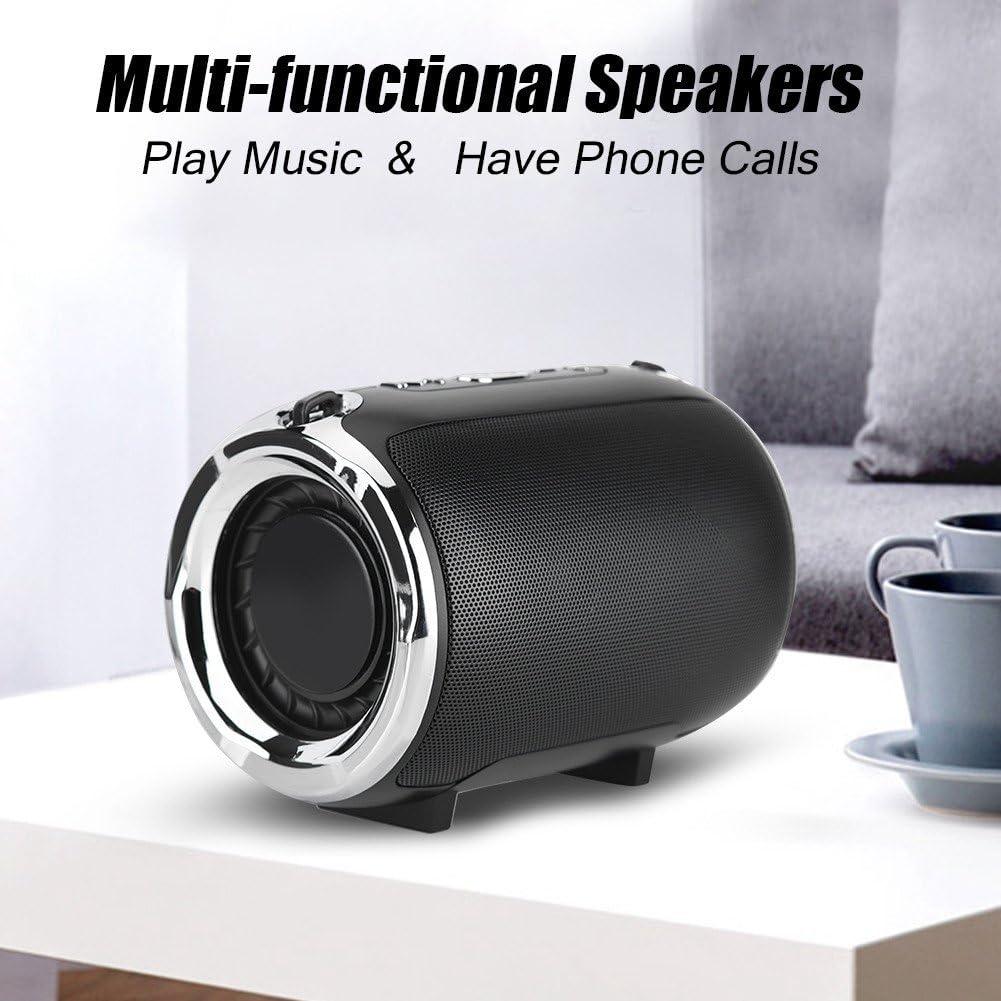 VBESTLIFE Haut-Parleur Wireless Haut-Parleur Portatif de Basse Lourde Enciente sans Fil et de Longue Dur/ée de Travail Haut-Parleur Clair Compatible avec 99/% des T/él/éphones et des Produits Num/ériques