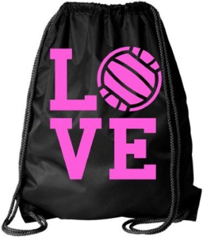 Volleyball Drawstring Bag