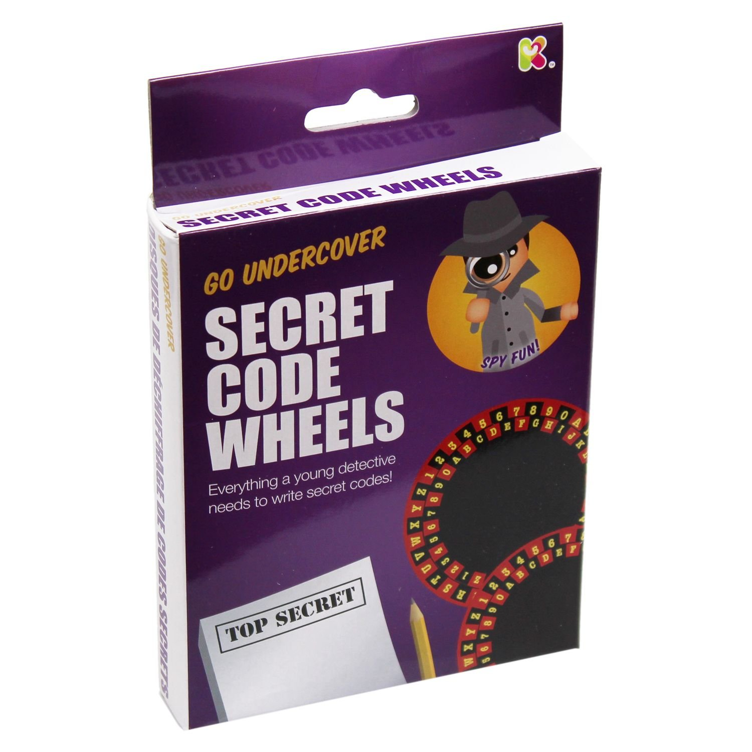 Secret Code Wheels Kit Science Activity Toy by Carousel Keycraft