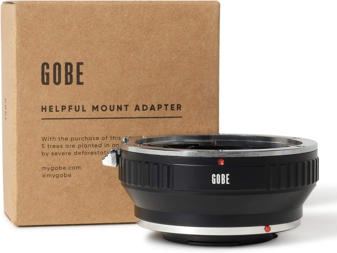 EF//EF-S e Corpo Fotocamera Nikon 1 Adattatore di Montaggio Lente: Compatibile con Lente Canon EOS Gobe