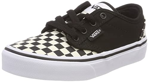 Vans Atwood, Zapatillas Unisex Niños, Negro (Checkerboard), 35 EU