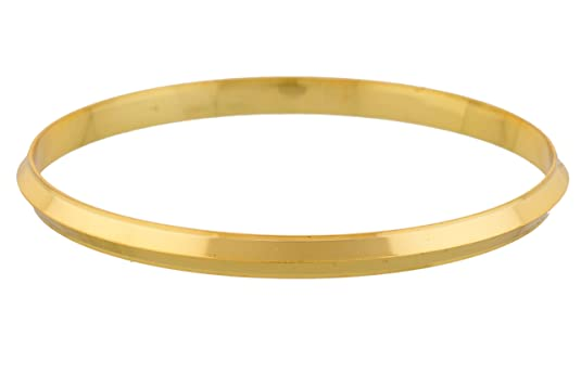 Jewbang Gold Plated Imitation Shining Bracelet Kada For Men-JB439DEAL12 Bracelets at amazon