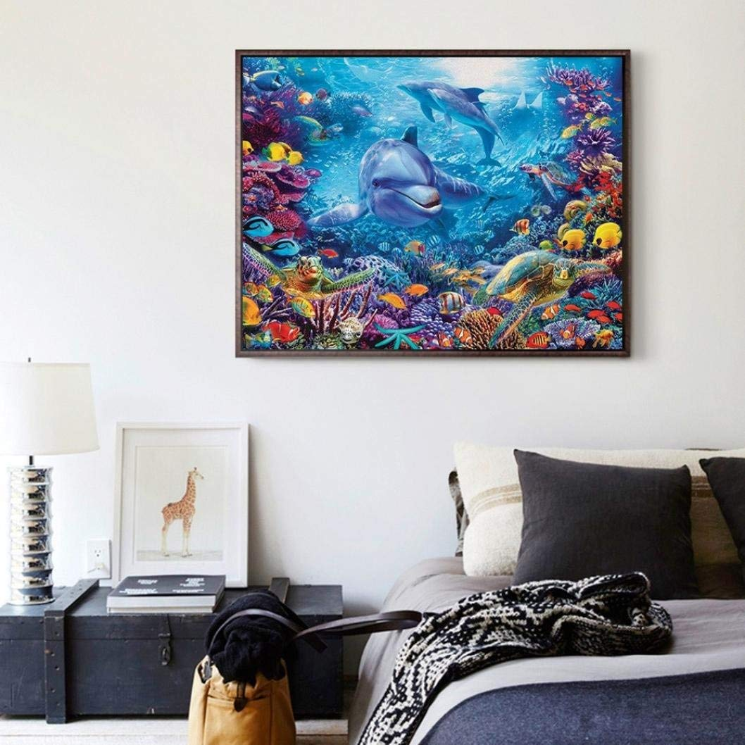 DIY 5D Diamond Painting Kits Household Arts Craft for Adults-Heart Stone 12X16Inch Full Drill Crystal Rhinestone Diamond Embroidery Paintings Pictures