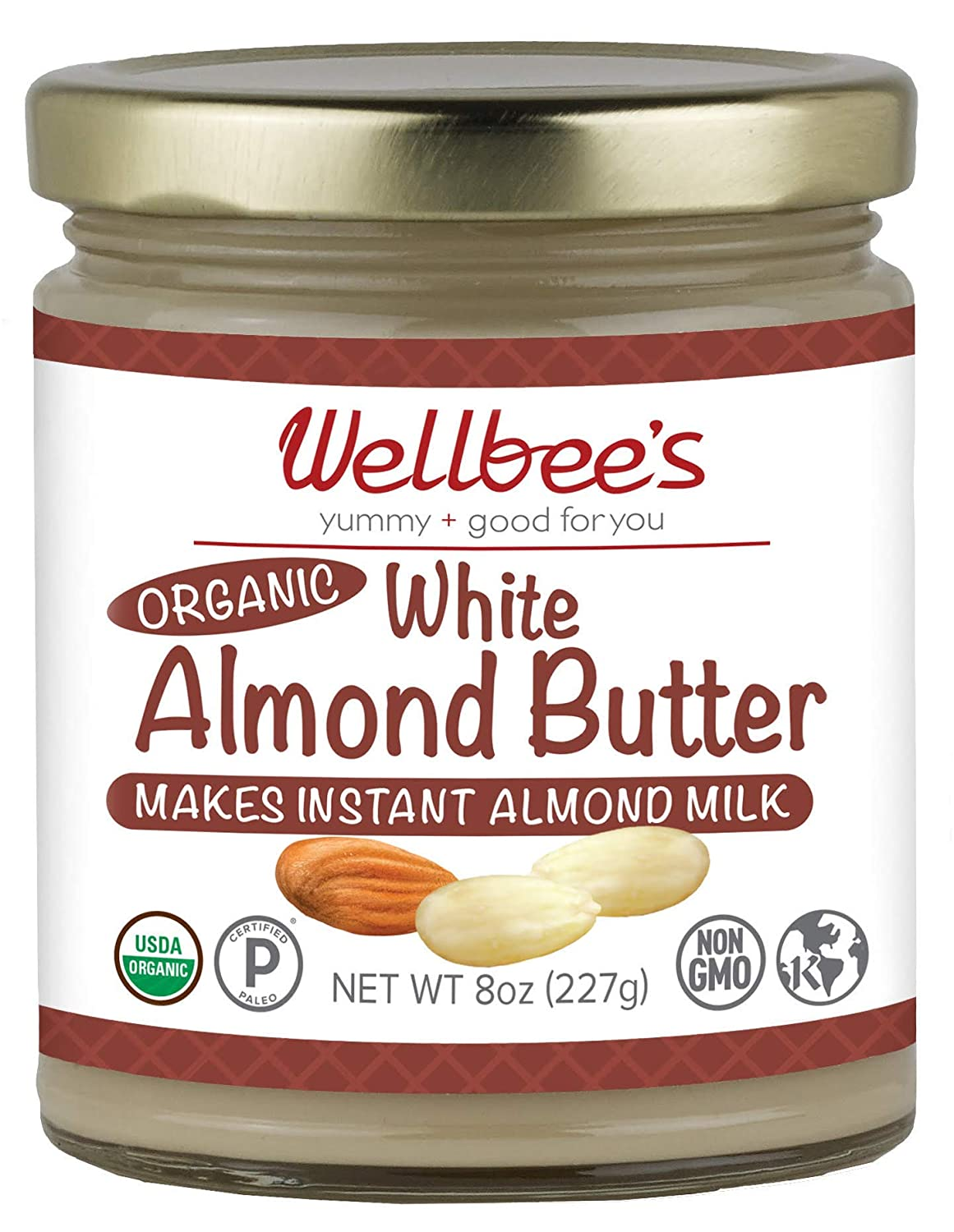 Blanched Almond Butter, Wellbee's Image