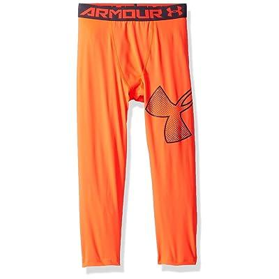 421ea35add082 Under Armour Boys' HeatGear Armour Logo ¾ Leggings [5WarK1305819 ...