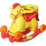 Archana NHR Supreme 2 In 1 Red Horsey Rocker Cum Ride On