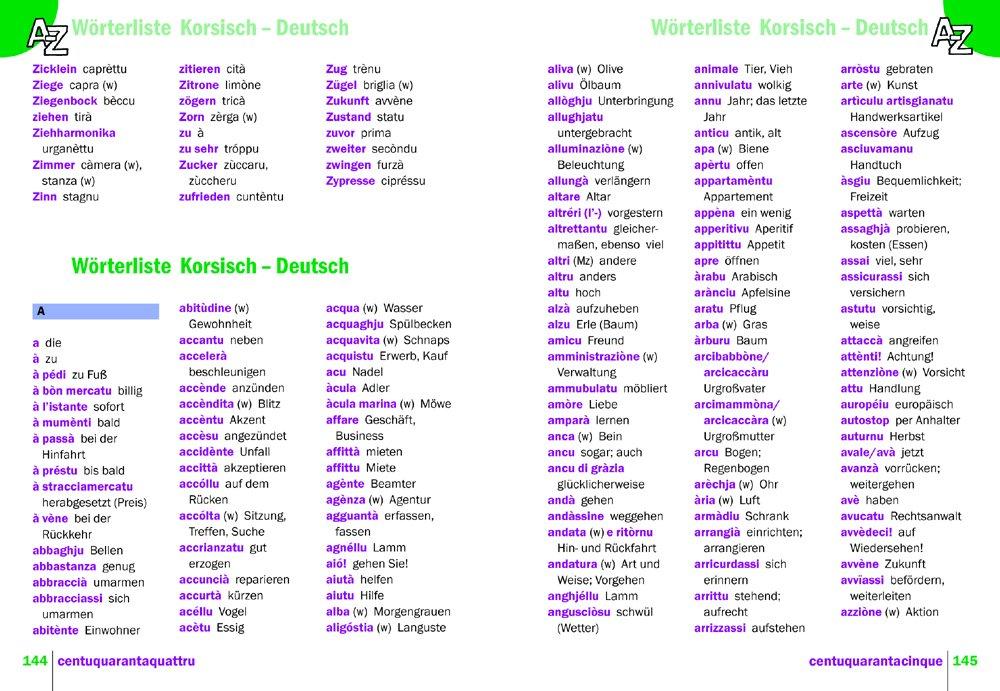 Korsisch - Wort für Wort: Kauderwelsch-Sprachführer von Reise Know ...
