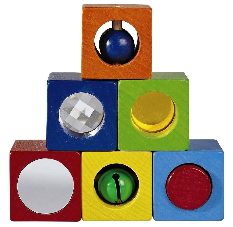 Cubes d'éveil sensoriel