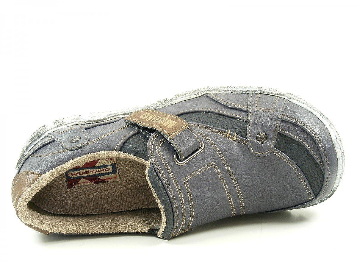 Mustang 1110403 Schuhe Damen Slipper Halbschuhe Sneaker Rot