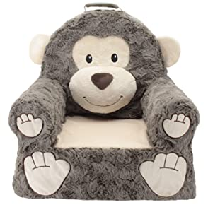 Soft Landing |Sweet Seats | Premium Monkey Character Chair