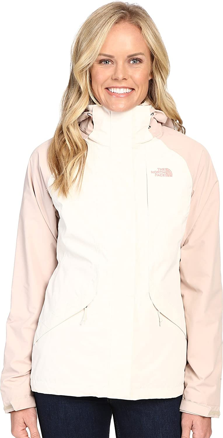 The North Face Boundary Triclimate Jacket – Women 's B017SCKIMW Medium|Vintage White/Doeskin Brown Vintage White/Doeskin Brown Medium