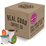 Real Good Coffee Co Recyclable K Cups, Variety Pack, For Keurig K-Cup Brewers, 36 Single Serve Coffee Pods
