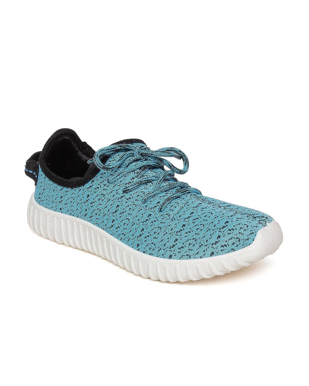 Champs Men jio Sky Blue Canvas Sneakers