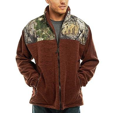 6732677d14d TrailCrest Men s C-Max Full Zip Polar Fleece Jacket