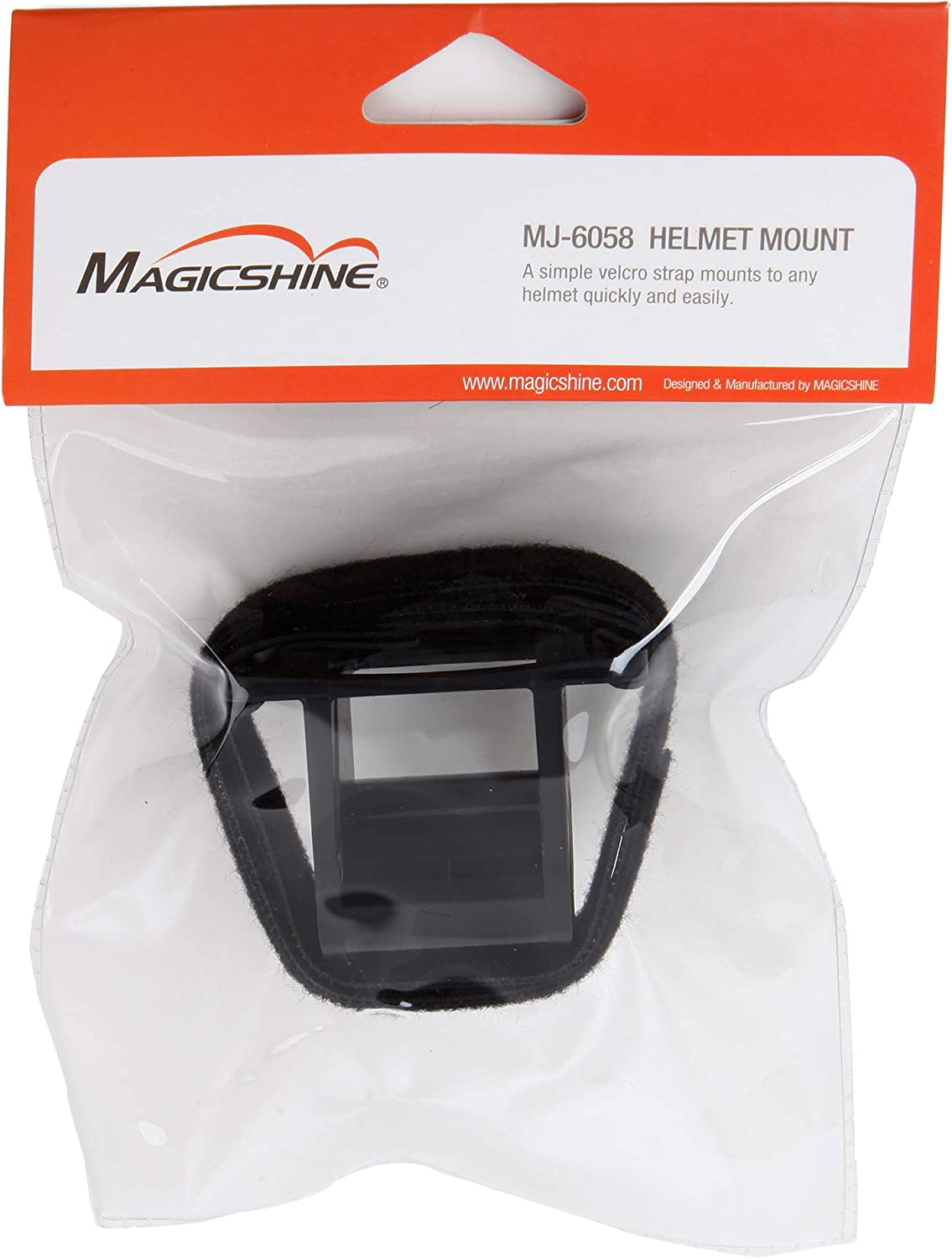 Magicshine MJ-6058 Helmet Mount--Compatible with O-ring bike lights