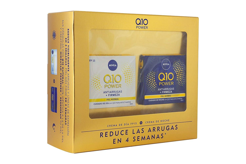 Nivea Q10 Power Set de Cremas para Reducir las Arrugas en 4 ...