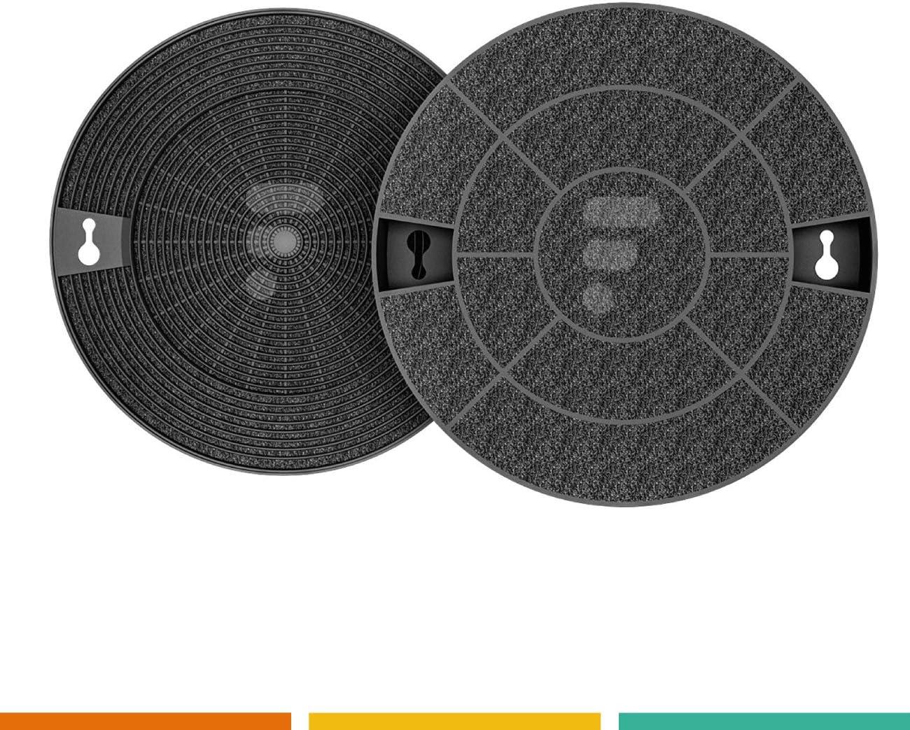 2 filtros de carbón FC16 – Compatible con IKEA NYTTIG fil600 Whirlpool AMC912 Brandt afc29 AEG Type 29 Wpro chf029/1: Amazon.es: Grandes electrodomésticos