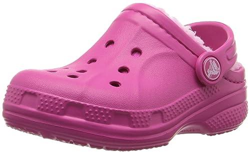 new style b3e54 28351 crocs Unisex-Kinder Winter Kids Clogs, Navy Electric Blue