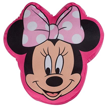 Character World Disney Minnie Mouse Makeover Shaped Plush Cushion