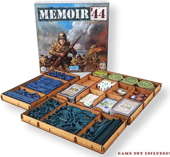docsmagic.de Organizer Insert for Memoir 44 Box - Encarte: Amazon.es: Juguetes y juegos