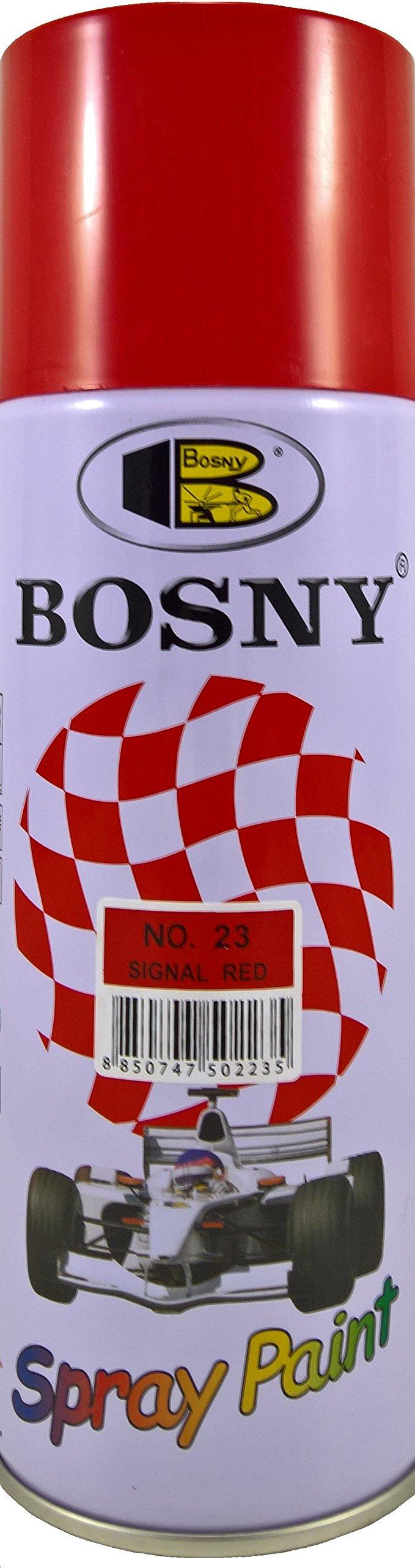 Bosny Acrylic Aerosol Spray Paint (400 ml, Signal Red) product image