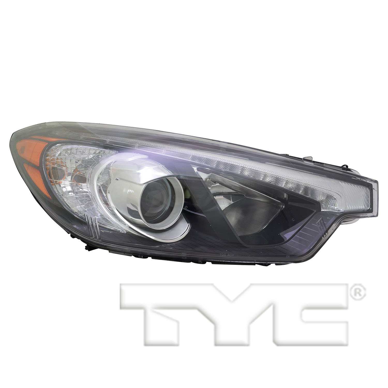 TYC 20-9459-80-1 Replacement Right Head Lamp for KIA Forte