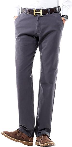 Amazon.com: FLY HAWK - Pantalones de vestir para hombre ...