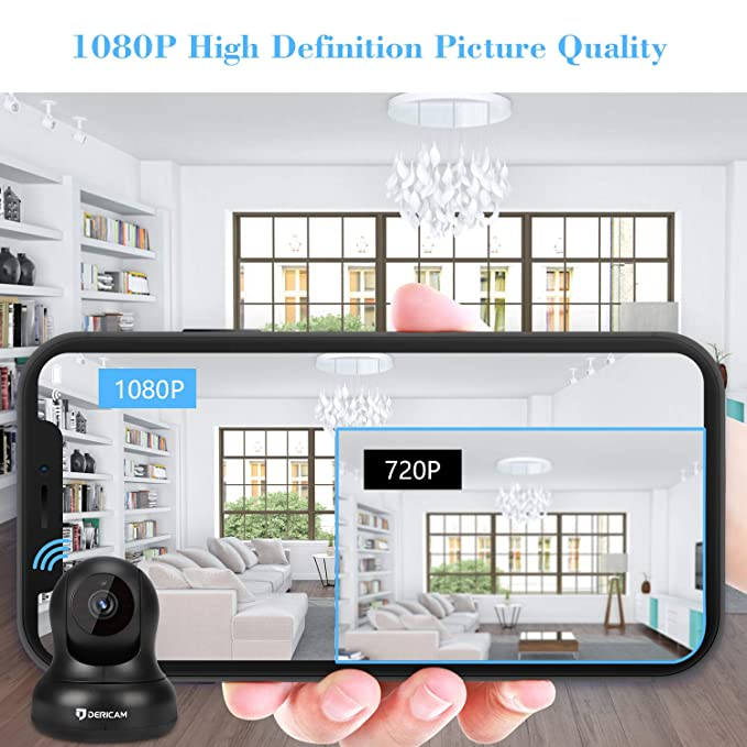 Buy Dericam 1080P Home Security Camera Online at Low Price in India