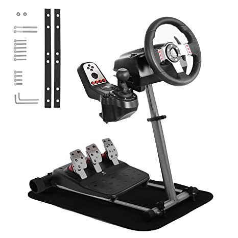 superland Racing Wheel Stehen, mit V2 Unterstützung Spiel Unterstützung für Logitech G29, G27, G25 Racing Simulator Lenkrad S