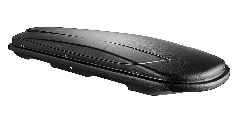 Campeggio chiudibile 400/Litri vdp Box da Tetto Xtreme 400/Black Nero Universale Tetto Valigetta Auto per Viaggi