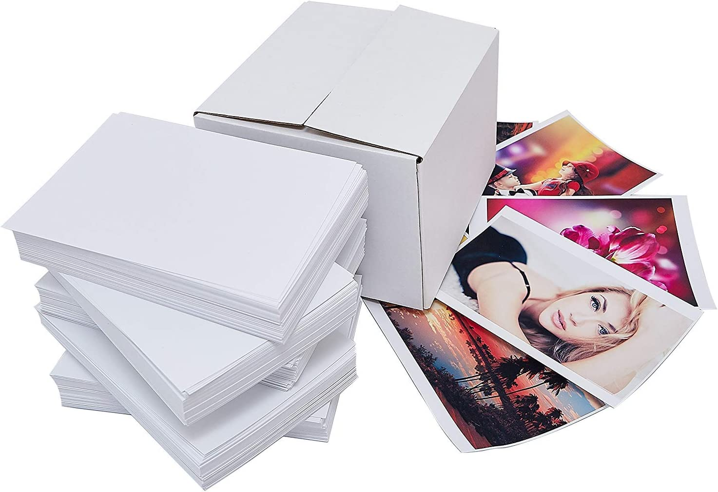 Printerry Glossy Photo Paper 4 x 6 Inches (500 Sheets) 60lbs / 230gsm