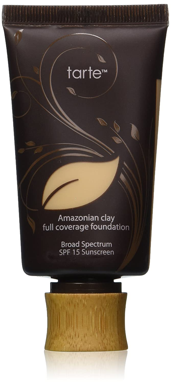 Tarte Cosmetics Amazonian Clay 12-Hour Full Coverage Foundation 1.7 fl oz SPF 15, Light Sand