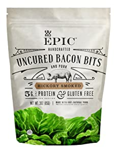 Epic Bacon Bits Hickory Smoked, 3 Ounce