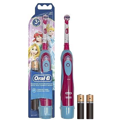 Oral-B Stages Power Spazzolino a Batteria per Bambini con Principesse o  Personaggi Cars Disney f7828da9cd02