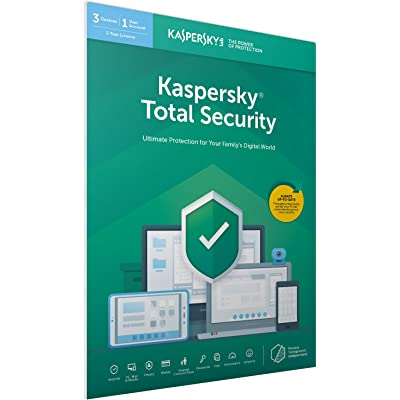 Kaspersky Total Security 2018   3 Devices   1 Year   PC/Mac/Android   Download