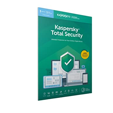 Kaspersky Total Security 2018 | 3 Devices | 1 Year | PC/Mac/Android