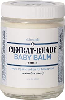 product image for Combat Ready BABY BALM - 8oz By Skincando – All Natural - Moisturizer for Babies – Diaper Rash - Eczema - Cradle Cap - Dry Skin