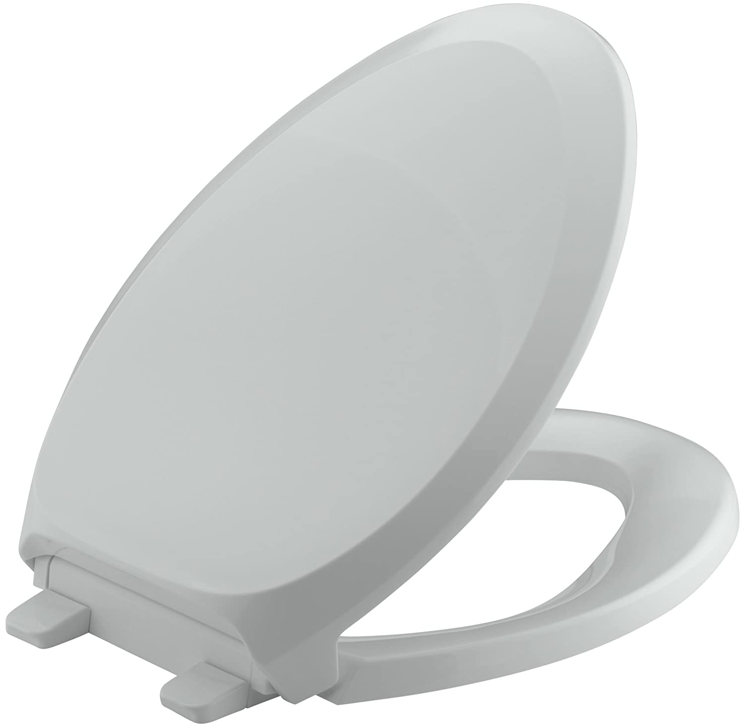 Cool Kohler K 4713 95 French Curve Quiet Close With Grip Tight Bumpers Elongated Toilet Seat Ice Grey Theyellowbook Wood Chair Design Ideas Theyellowbookinfo