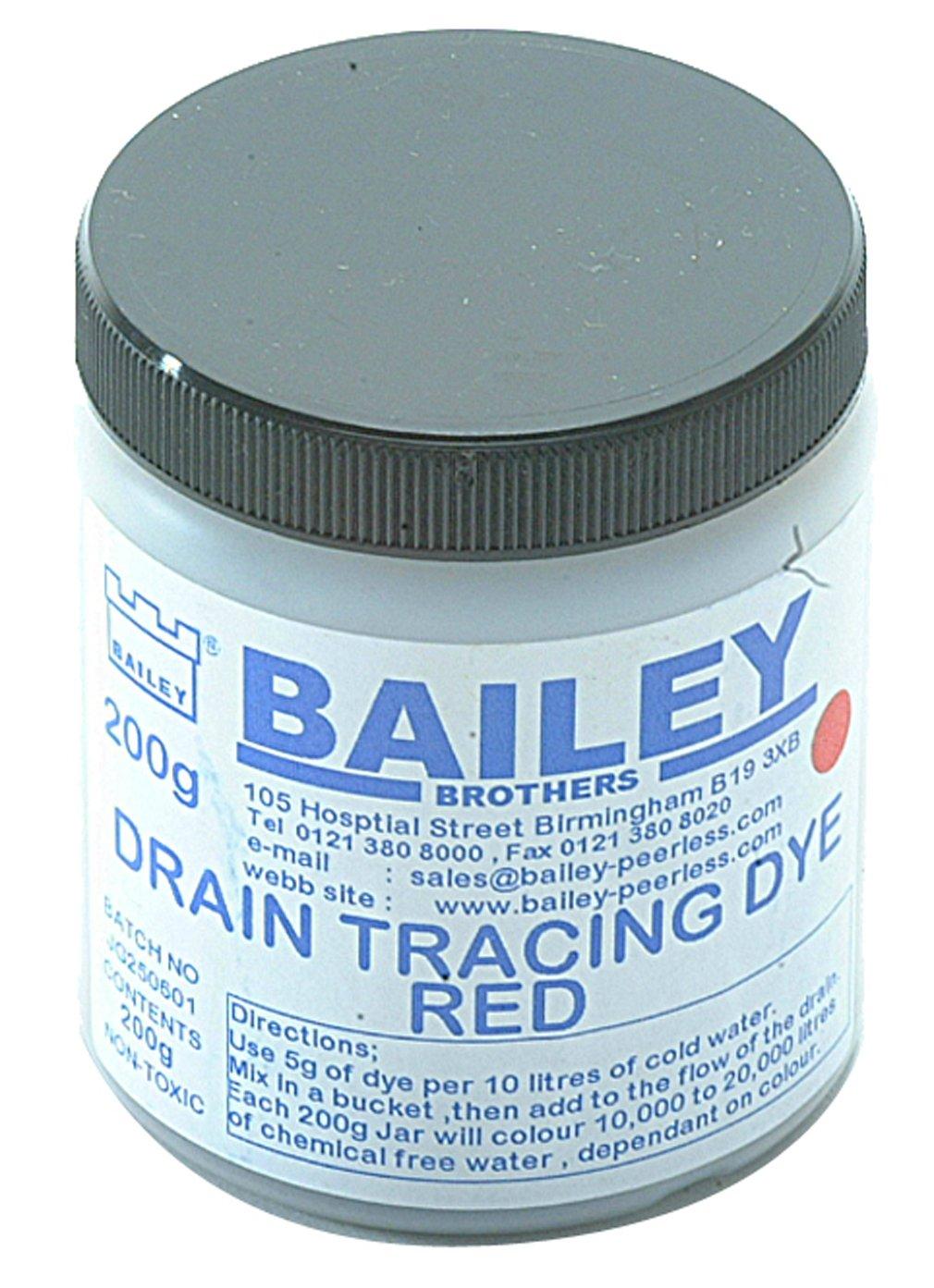 BAILEY 3590 Drain Tracing Dye - Red BAI3590