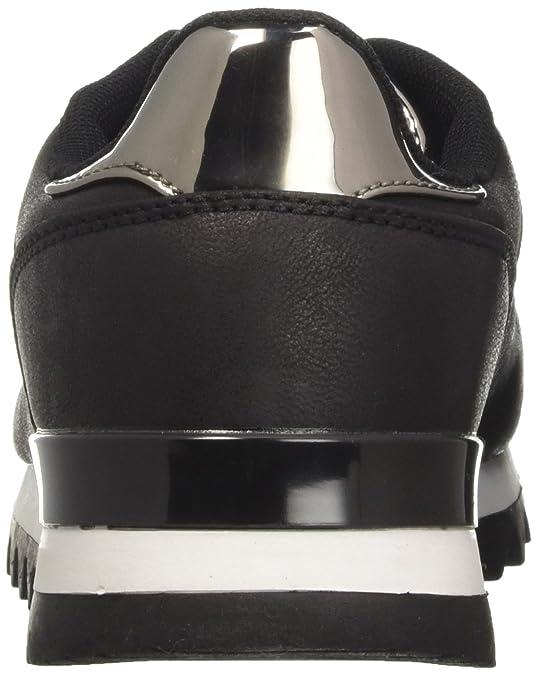 100114710EP, Chaussures de Gymnastique Femme, Noir (Nero), 37 EUPrima Donna