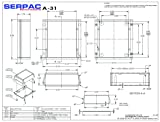 "Serpac 031 ABS Plastic Enclosure, 4-3/8"" Length x"