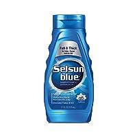 Selsun Blue Shampoo Dandruff For Fuller/Thicker Hair 11 Fl Oz ,Pack of 1